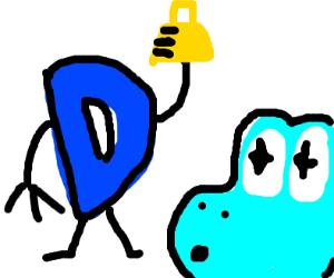 Drawception found a cowbell, Yoshi wants it.