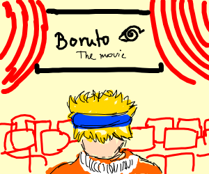 Naruto goes to the movies