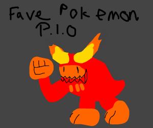 favorite pokemon = PIO