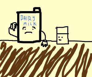 Confused milk