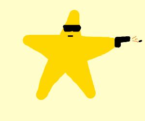 """shoot'in star"""