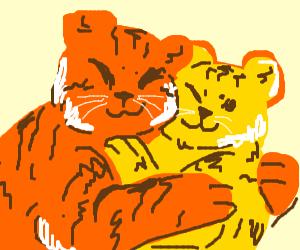 tiger hug owo