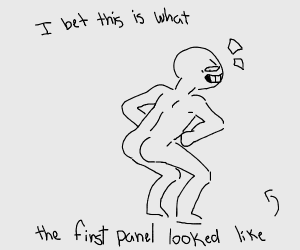 The previous panel is the first one