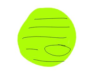 Jupiter but green