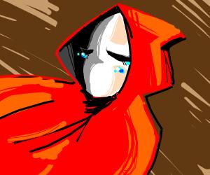 """sad red hood """"girl""""?"""