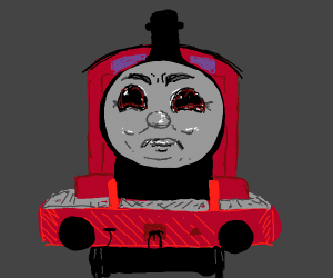 Thomas the satanic train