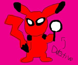 DeadPool Pikachu become a detective