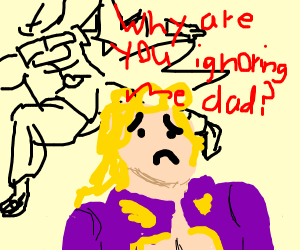DIO is a bad dad to Giorno