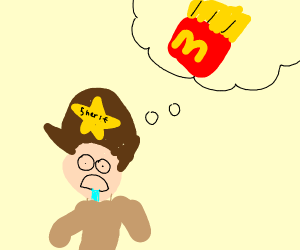 Sheriff thinks of junk food