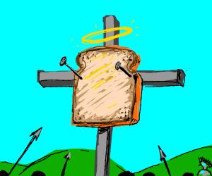 god-like toast