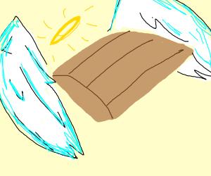 Angel bread box
