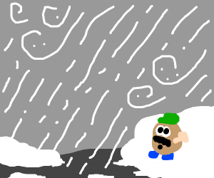 Toy in a Hailstorm