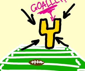 A Football Goal