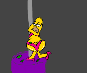 sexy homer..?