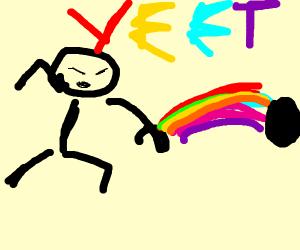 rainbow YEET
