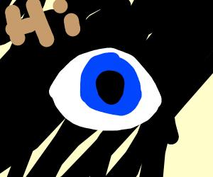 Blue Eye says hello