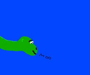 dinosaur under the sea