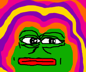 psychedelic pepe