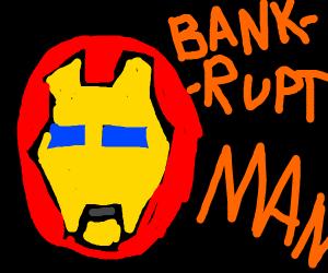 iron man Bankrupt