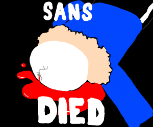 Sans died
