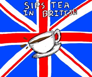 a british meme