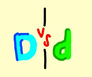 Green Drawception vs Blue Drawception