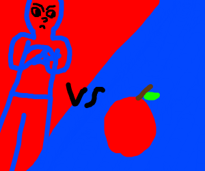 MAN VS. APPLE