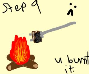 Step 8: roast marshmallows!