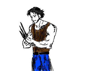 Childlike Wolverine