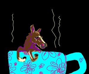 Secretary in a Teacup