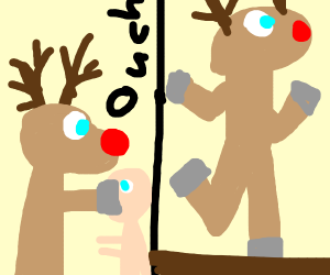 rudolph doing a hit and run