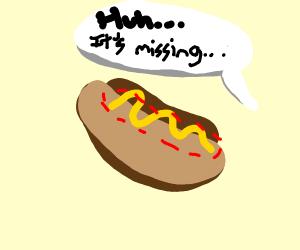 hotdog without the hotdog