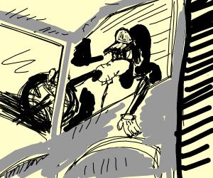 Goofy Truck Driver