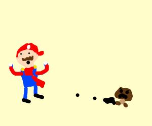 Mario fricking dies