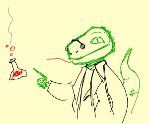 Professor Lizard