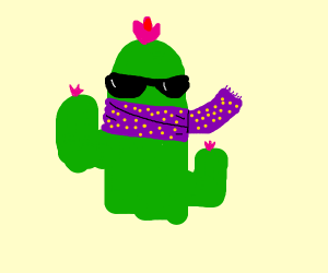 Cactus trying to be better than everyone else