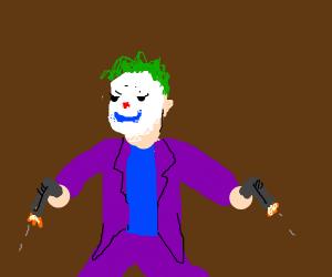 Joker has a gun, but it's DC