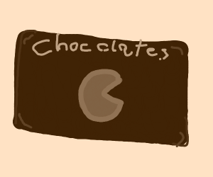 Chocolate Pac-Man