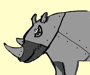 Steampunk Rhinoceros
