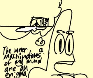 Patrick and spilled milk meme
