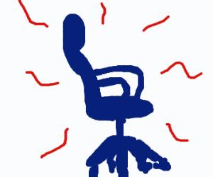 Pretty magic chair