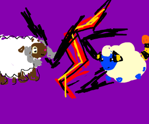 Wooloo vs Mareep