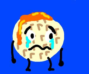 A sad waffle