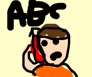 Playing the ABCs on a phone