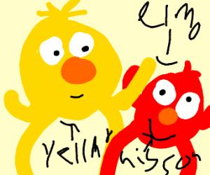 Yellmo and his emo son