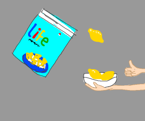 Life: gives you lemons