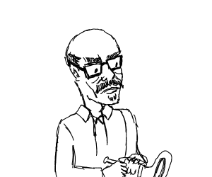 Musician with Glasses