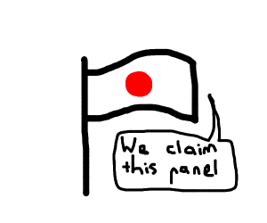 Japan claims this panel