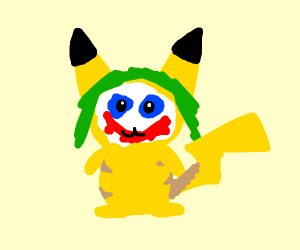 Joker and Pikachu