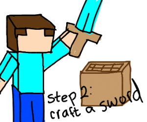 Step 1: Make a Crafting table